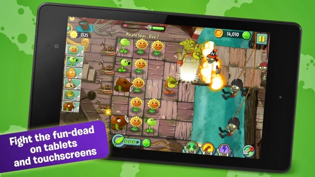 Plants vs Zombies 2 -  Join Crazy Dave on a crazy adventure where you'll meet, greet and defeat legions of zombies from the dawn of time to the end of days.